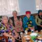 Чаепитие жильцов Кубитетского дома-интерната для престарелых и инвалидов