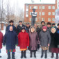 Жильцы Кудымкарского дома-интерната для престарелых и инвалидов