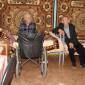 Жильцы Ламского дома-интерната для граждан пожилого возраста