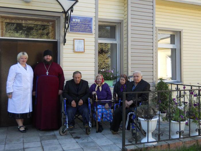 Персонал Ламского дома-интерната для граждан пожилого возраста