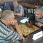Игра в шахматы жильцов Майкопского психоневрологического интерната