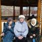 Беседка на территории Мильковского дома-интерната малой вместимости