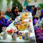 Чаепитие жильцов Мосальского дома-интерната для престарелых и инвалидов