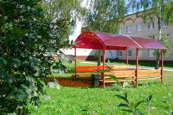 Территория Мосальского дома-интерната для престарелых и инвалидов