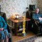 Холл Мошенского дома-интерната для престарелых и инвалидов