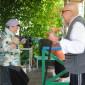 Танцы жителей Новгородского дома-интерната для престарелых и инвалидов