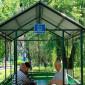 Беседка на территории Новочеркасского дома-интерната для престарелых и инвалидов