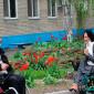 Жильцы Новочеркасского дома-интерната для престарелых и инвалидов