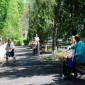 Прогулка постояльцев Новочеркасского дома-интерната для престарелых и инвалидов