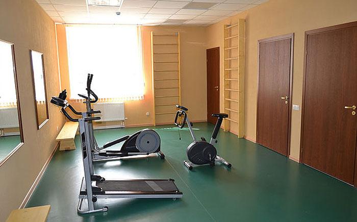 Спортзал Новодугинского специального дома для престарелых и инвалидов