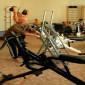 Спортзал Октябрьского дома-интерната для престарелых и инвалидов