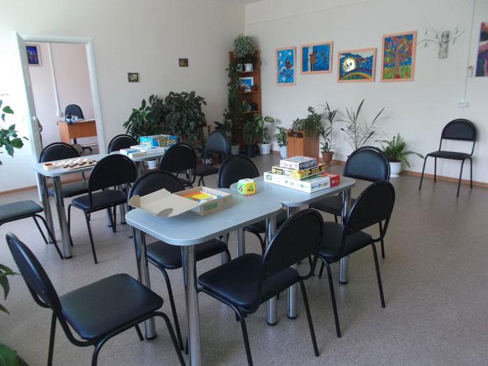 Досуговая комната Озерского психоневрологического интерната