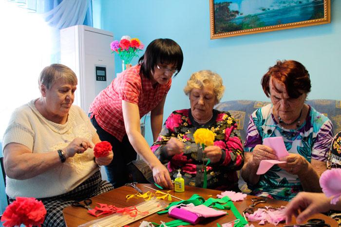 Досуг постояльцев Райчихинского дома-интерната для престарелых и инвалидов