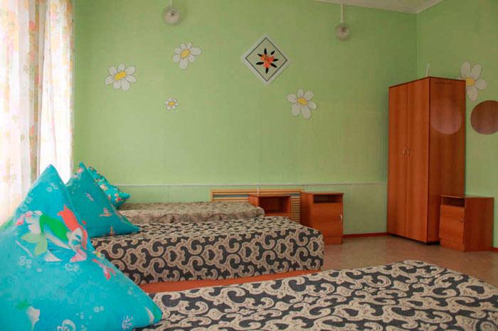 Комната постояльцев Реабилитационного центра для инвалидов «Жемчужина бора»