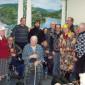 Жильцы Ремонтненского дома-интерната для престарелых и инвалидов