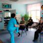 Постояльцы Республиканского центра по реабилитации инвалидов