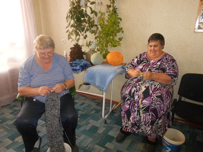 Досуг постояльцев Республиканского дома-интерната для престарелых №2