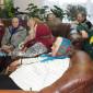 Жильцы Селезневском доме-интернате для престарелых и инвалидов