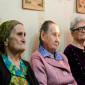 Жители Серышевского дома для одиноких престарелых «Милосердие»
