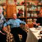 Гости Серышевского дома для одиноких престарелых «Милосердие»