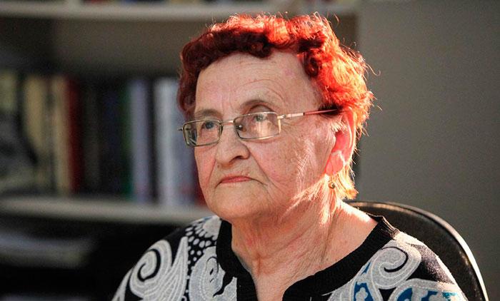 Постояльцы Серышевского дома для одиноких престарелых «Милосердие»