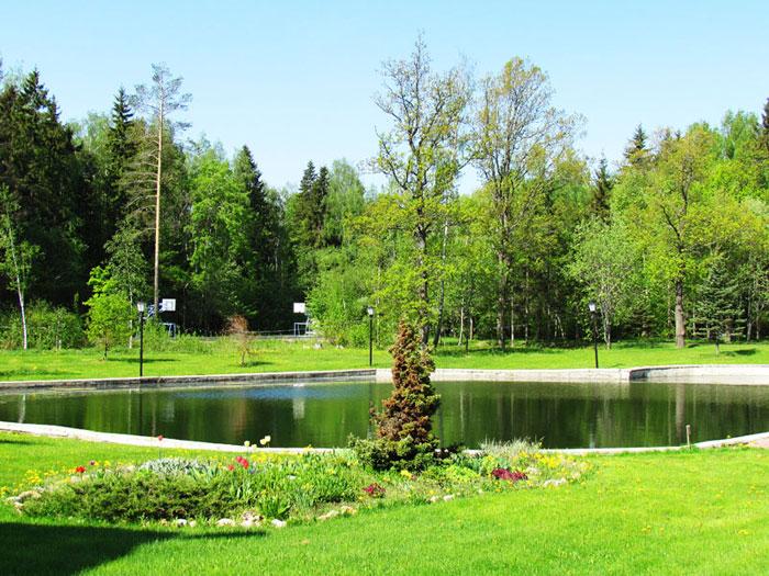 Территория Социально-оздоровительного центра «Лесная поляна»
