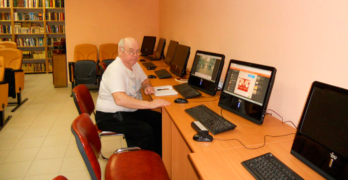 Компьютерный класс Социально-оздоровительного центра «Максаковка»