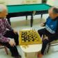 Игра в шахматы жильцов Социально-оздоровительного центра «Максаковка»