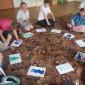 Игры жильцов Соликамского дома-интерната для престарелых и инвалидов