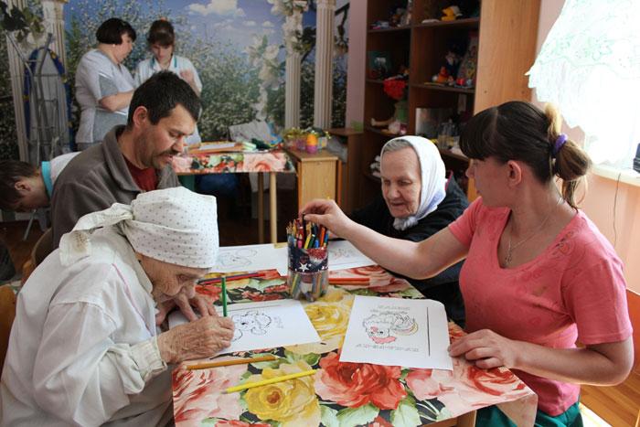 Творческий вечер постояльцев Соликамского дома-интерната для престарелых и инвалидов
