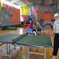 Игра в теннис жителей Стерлитамакского психоневрологического интерната