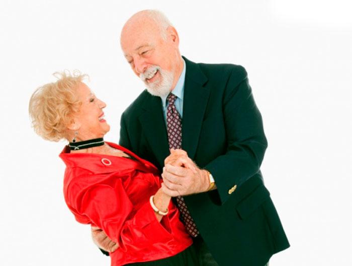 Танец пожилых людей
