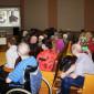 Актовый зал Тентюковского дома-интерната для престарелых и инвалидов