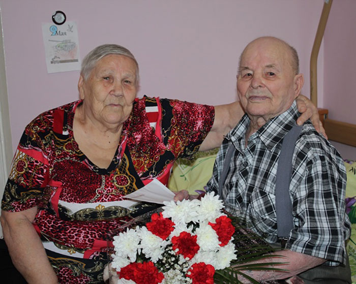 Жильцы Тентюковского дома-интерната для престарелых и инвалидов