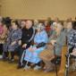Постояльцы Тентюковского дома-интерната для престарелых и инвалидов