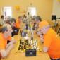 Игра в шахматы жильцов Тентюковского дома-интерната для престарелых и инвалидов
