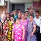 Постояльцы Тихорецкого дома-интерната для престарелых и инвалидов