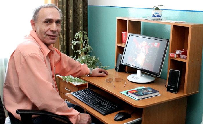 Обучение компьютерной грамотности жильцов Учалинского психоневрологического интерната