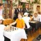 Игра в шахматы жильцов Учалинского психоневрологического интерната