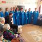 Концерт жителей Усинского дома-интерната для престарелых и инвалидов