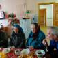 Чаепитие жителей Усогорского дома-интерната для престарелых и инвалидов