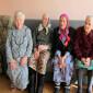 Постояльцы Усогорского дома-интерната для престарелых и инвалидов