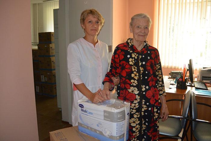 Персонал Владимирского областного специального дома для ветеранов