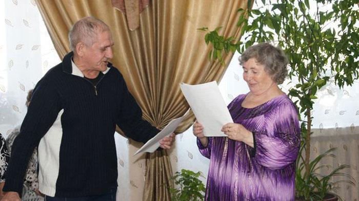Досуг жителей Ясногорского дома-интерната для престарелых и инвалидов
