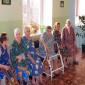 Жильцы Чихачевского дома-интерната для престарелых и инвалидов