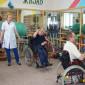 ЛФК жильцов дома-интерната для престарелых и инвалидов «Дарина»