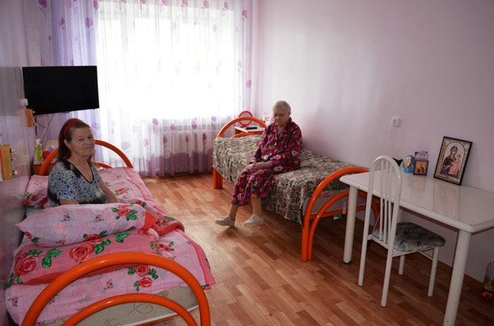 Номер постояльцев дома-интерната для престарелых и инвалидов «Дарина»