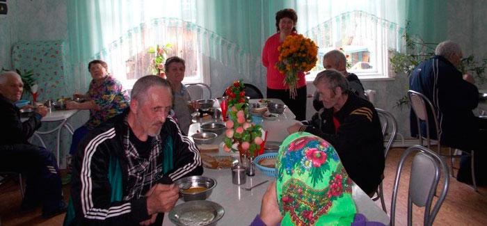 Столовая дома-интерната для граждан пожилого возраста «Степановский»