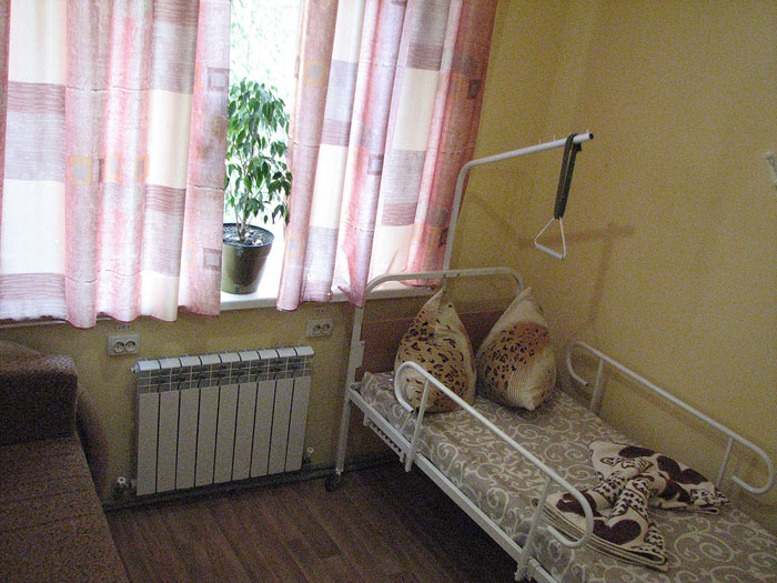 Комната постояльцев пансионата для пожилых людей «Берегиня»