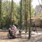 Территория пансионата для пожилых людей «Берегиня»